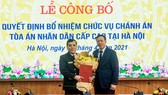 Ông Nguyễn Xuân Tĩnh được bổ nhiệm làm Chánh án Tòa án nhân dân Cấp cao tại Hà Nội