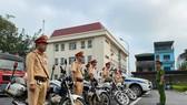 Cảnh sát giao thông Hà Nội ra quân đảm bảo an toàn giao thông ngày nghỉ lễ