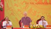 Tổng Bí thư Nguyễn Phú Trọng: Chú ý xây dựng con người, 'quân phải tinh, tướng phải mạnh'