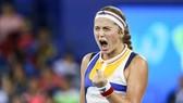 Jelena Ostapenko đã đánh bại Garbine Muguruza