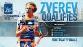 """Alexander Zverev đã trở thành """"đệ tam kiếm"""" trong mùa giải năm nay"""
