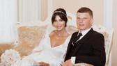 Andrei Arshavin và Alisa Kazmina