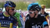 Từng đối địch trên đường đua, nhưng Contador (trái) vẫn rất thân thiết và đánh giá cao Froome