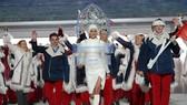 Đoàn VĐV Nga tham dự Olympic mùa Đông Sochi 2014