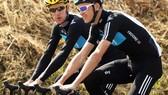Bradley Wiggins và Chris Froome từng rất thân thiết khi còn đua cho đội đua Sky