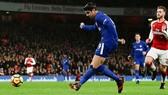 Tình huống Morata bỏ lỡ cơ hội đầu tiên