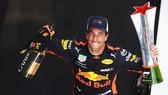 Niềm vui chiến thắng của Daniel Ricciardo