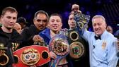 Golovkin đang sở hữu các đai vô địch hạng trung của WBA (Super), WBC và IBO