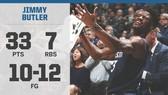 Jimmy Butler vẫn ghi 33 điểm dù bị khán giả nhà la ó