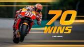 Marquez đã giành được 70 chiến thắng
