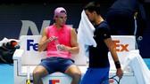 Nadal đang tập luyện ở London