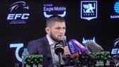 """Khabib họp báo giớ thiệu về """"Đế chế"""" EFC của anh"""
