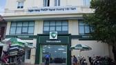 Chi nhánh Vietcombank Nghi Sơn nơi xảy ra vụ việc. ảnh: Ng.D.