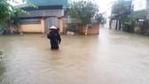 Mưa lớn gây ngập lụt, nhiều trường học ở Nghệ An cho học sinh nghỉ học