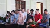 7 bị cáo trong đường dây ma túy xuyên quốc gia lãnh án tử hình