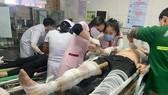 Tai nạn tại công trình xây dựng, hàng chục công nhân bị thương
