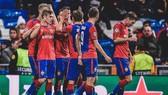 Niềm vui chiến thắng của các cầu thủ CSKA
