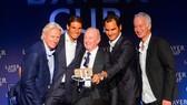 Rafael Nadal, Roger Federer và những huyền thoại ở Laver Cup 2017
