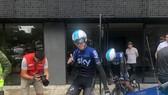 Chris Froome và đội đua Sky được tiếp đón nồng nhiệt ở Tour Colombia