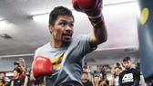 Pacquiao ráo riết tập luyện cho trận đấu với Thurman