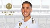 Hazard sẽ mặc áo số 7 ở Real
