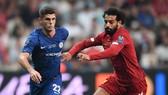 Pulisic đã chơi rất tự tin trước một Salah đầy tên tuổi