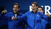 Federer và Nadal ở Laver Cup 2019
