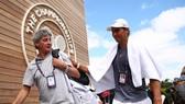 Nadal và bác sĩ riêng lâu năm Ruiz Cotorro