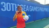 Hoàng Nam và tấm HCV lịch sử trong môn quần vợt