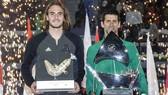 Sau khi trấn áp Tsitsipas, Djokovic đăng quang ở Dubai