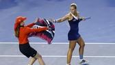 Ở giải đâu năm nay, những hành động như của Cibulkova bị cấm triệt để