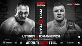 Hình ảnh quảng bá cho sự kiện MMA - Kickboxing Grand Prix Minsk