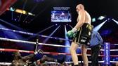 Fury ngạo nghễ trong trận thắng KO kỹ thuật Wilder