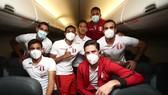 Tuyển Peru bay đến Rio de Janeiro