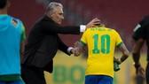 HLV Tite và Neymar