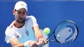 Novak Djokovic đang tích cực tập luyện ở 'Đấu trường Ariake