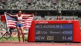 Sydney lập KLTG 400m vượt rào nữ