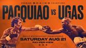 Hình ảnh quảng bá trận Pacquiao vs Ugas