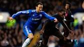 Ricardo Carvalho (trái) trong màu áo Chelsea. Ảnh: Getty Images.