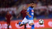 Lorenzo Insigne ghi bàn quyết định cho Napoli ở phút 20. Ảnh: Getty Images.
