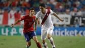 Mất Paolo Guerrero (phải) là tổn thất lớn cho Peru. Ảnh Getty Images.