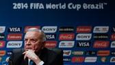 Cựu chủ tịch LĐBĐ Brazil Jose Maria Marin khi đang làm Trưởng ban tổ chức World Cup 2014. Ảnh: Getty Images.