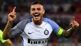 Mauro Icardi không việc gì phải vội hợp tác với Madrid. Ảnh: Getty Images.