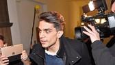Marc Bartra đến tham dự phiên tòa ở Dortmund. Ảnh: Getty Images.