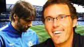 Antonio Conte sẽ ra đi, Laurent Blanc sẽ dẫn dắt Chelsea mùa tới.