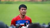 HLV Hữu Thắng rất tin tưởng cầu thủ U22 Việt Nam. tác giả: NGỌC HẢI
