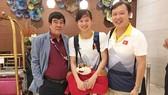 Ánh Viên và HLV Đặng Anh Tuấn đã tới Malaysia tối ngày 16-8. Ảnh: ÁI XUÂN