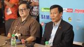 Bộ trưởng Nguyễn Ngọc Thiện động viên đoàn thể thao Việt Nam tại Malaysia