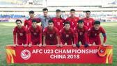 Đội U23 Việt Nam đã chơi quả cảm trước U23 Iraq qua đó chiến thắng, lọt vào bán kết. Ảnh: VFF