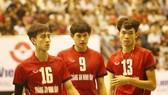 VĐV bóng chuyền nam Tràng An Ninh Bình được quà tết như VĐV của các môn khác tại địa phương. Ảnh: BongchuyenVN